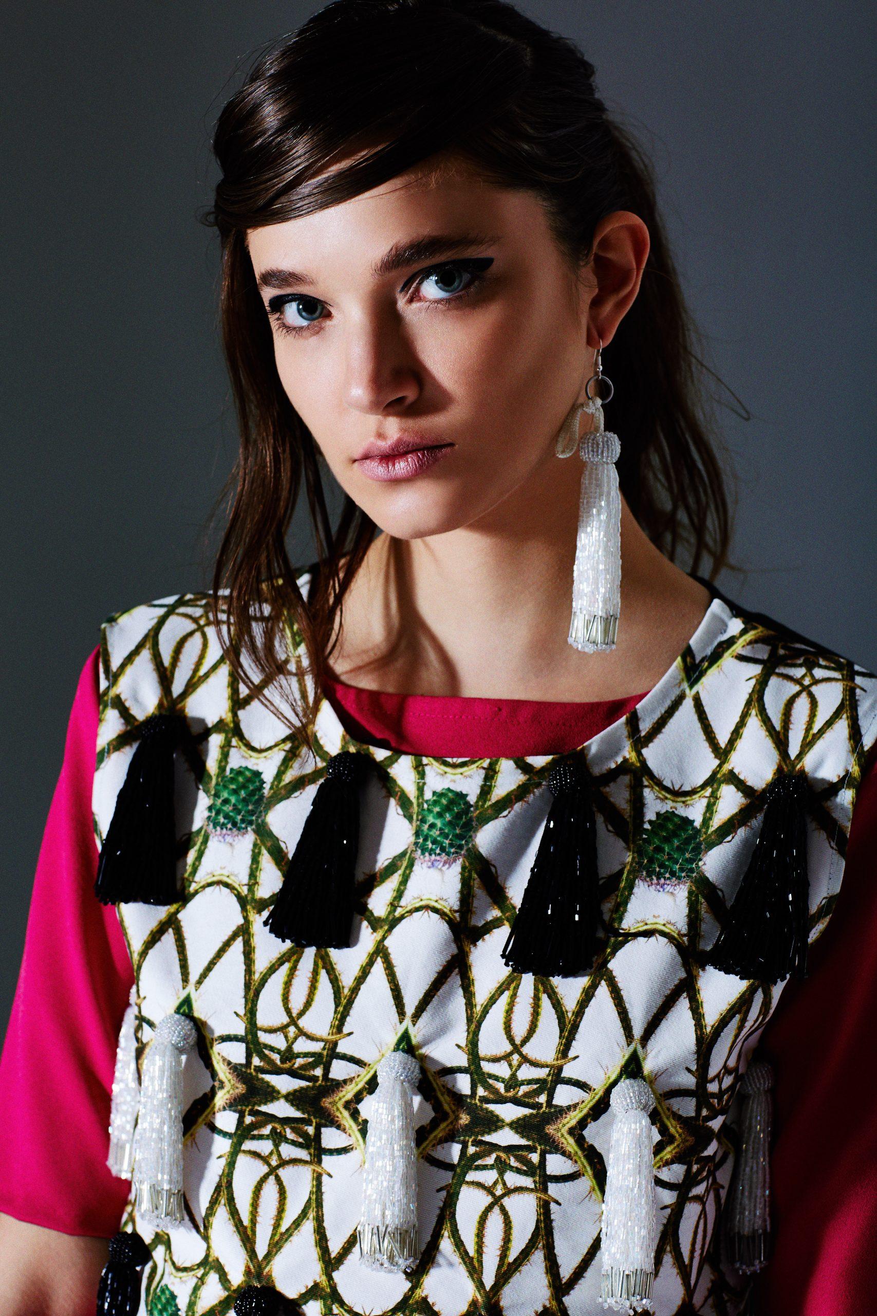 Makeup & Hair - Simone Graham Designer - David Longshaw AW16/17 Photographer - Alexander Jordan Model - Julia Gubert @ Next