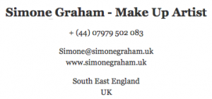 Simone Graham Make Up Artist UK