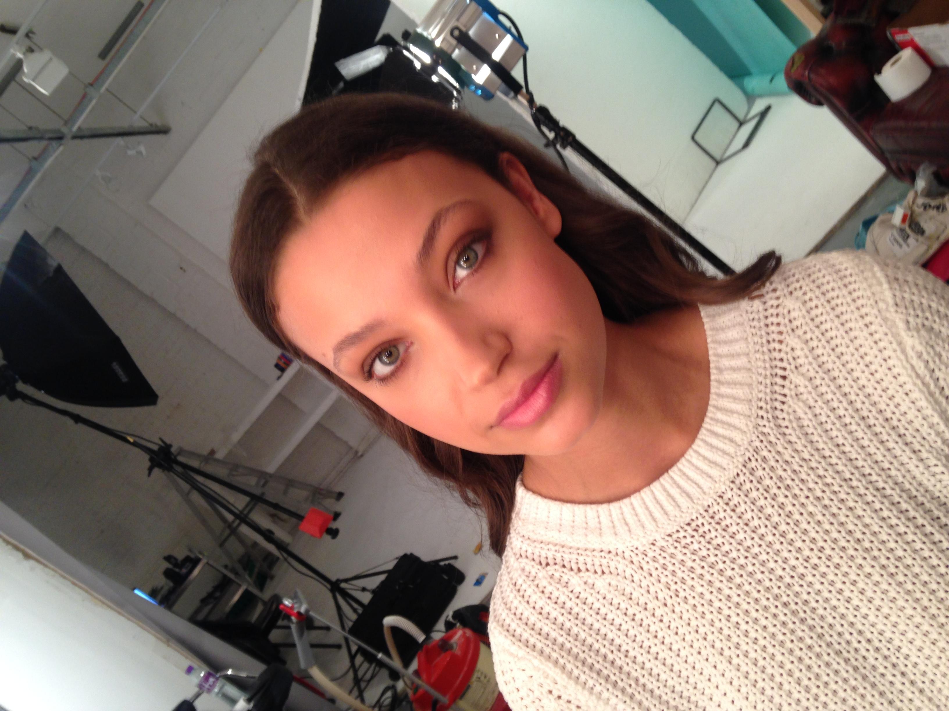 David Longshaw SS16 Look Book Shoot Makeup Artist Simone Graham