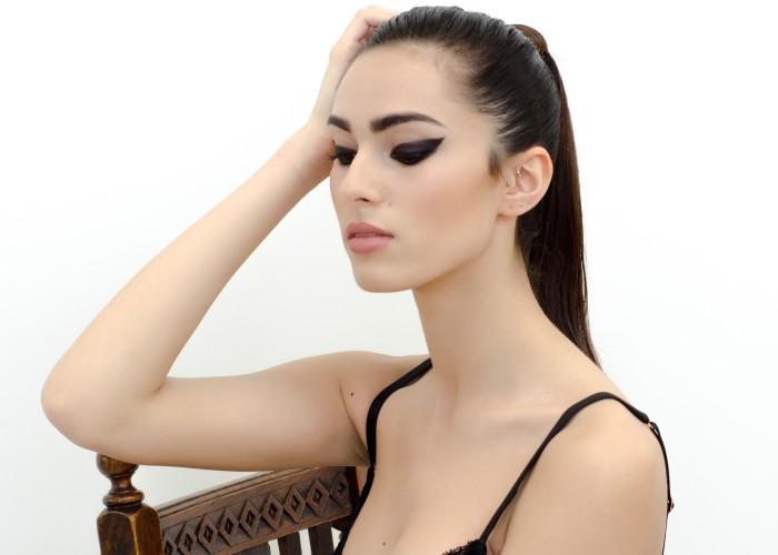 Makeup & Hair: Simone Graham Photographer: Katie Blench Stylist: Stylierge Model: Adara Schwartz @ PRM Model Agency